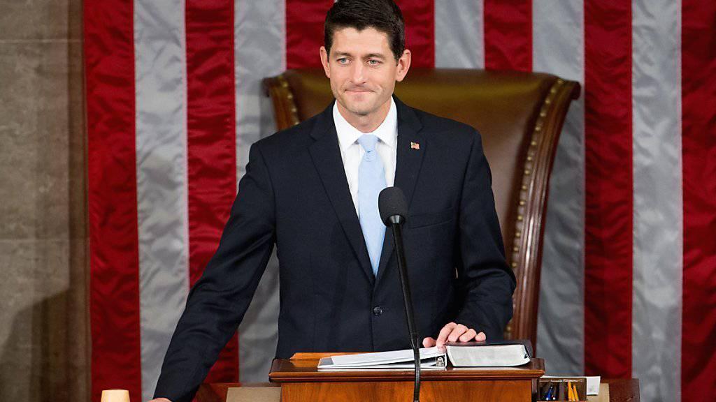 Verweigert Obama die Zusammenarbeit beim Thema Einwanderung: Vorsitzender des US-Repräsentantenhauses Paul Ryan