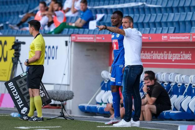Fabio Celestini, Trainer beim FC Luzern, setzt seine Ersatzspieler am kürzesten ein.