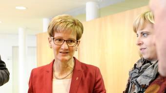Eine Abstimmung gewonnen, zwei verloren: Baudirektorin Sabine Pegoraro gestern im Regierungsgebäude.
