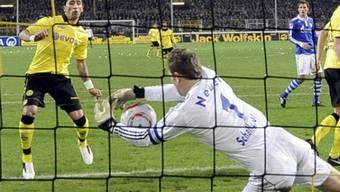 Schalke-Goalie Manuel Neuer liess die Dortmunder verzweifeln