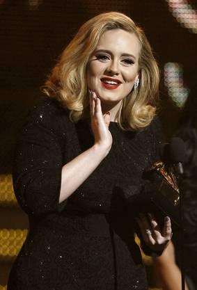 Adele, der Superstar war die grosse Abräumerin der 54. Grammy-Award Verleihung.