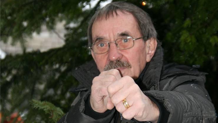 Der Grossapparate-Schlosser Peter Kissling hat in den letzen 45 Jahren nur vier Trainings verpasst.