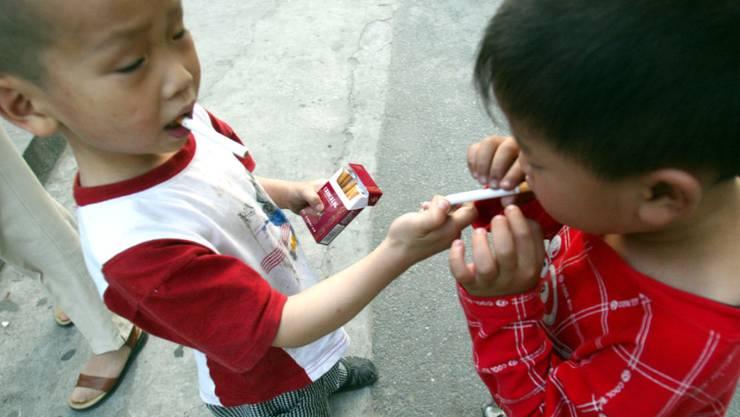 Nikotinsucht bei kindern