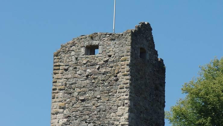 Die Burgruine muss saniert werden (Symbolbild).