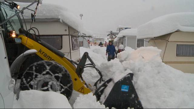 Camping im Schnee: Teil 4