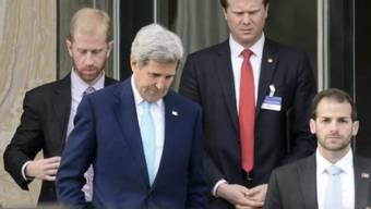US-Aussenminister Kerry will bis Donnerstagmorgen weiterverhandeln