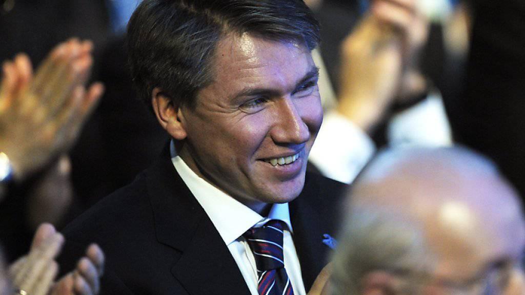 Alexej  Sorokin wurde per Akklamation in den FIFA-Rat gewählt (Archivbild)