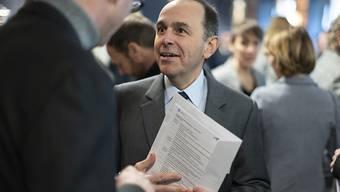 Auch grössere Zeitungstitel sollen seiner Vorstellung nach von der indirekten Presseförderung profitieren: Verlegerpräsident Pietro Supino. Heute liegt die Obergrenze bei einer Auflage von 40'000 Exemplaren.
