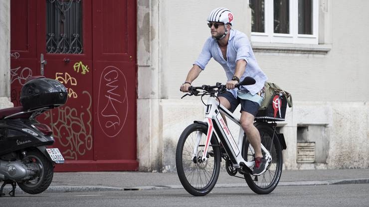 Pro Woche werden bis zu 3500 Fahrten mit Pick-e-Bikes gebucht.