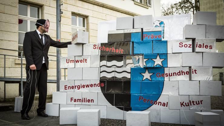 Die Mitglieder des Bündnisses «Aargau mit Zukunft» ...