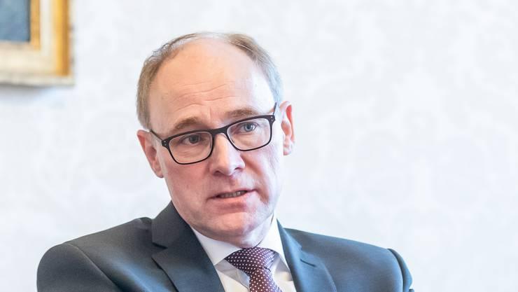 Hansjörg Knecht will der Rheintallinie zum Durchbruch verhelfen.