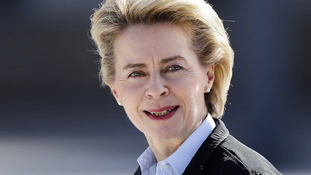 Geht es nach den EU-Staats- und Regierungschefs, dann soll die deutsche Verteidigungsministerin Ursula von der Leyen neue EU-Kommissionspräsidentin werden. Sie haben die konservative Politikerin am Dienstag in Brüssel nominiert. (Archiv)
