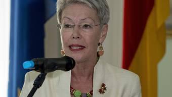 Die Schweizer Diplomatin und Botschafterin Heidi Tagliavini wurde mit der OSZE-Medaille geehrt. (Archivbild)