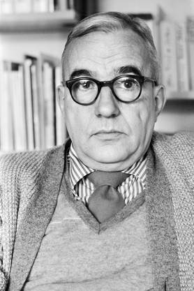 Kurt Marti am 29. Januar 1981 in Bern