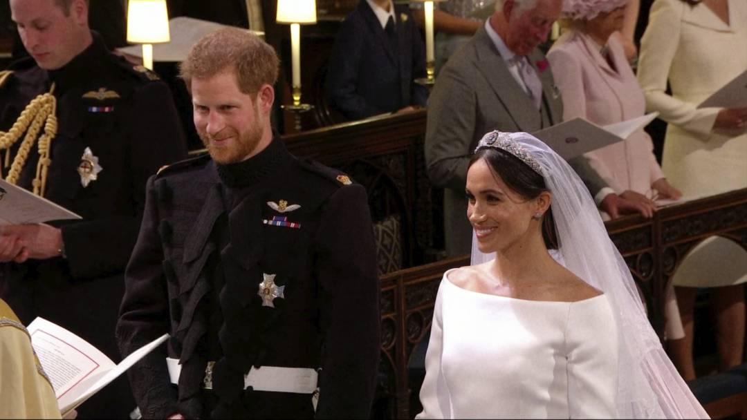 Prinz Harry und Herzogin Meghan sind verheiratet