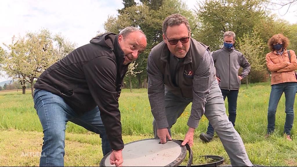 Aargauer Bauern präsentieren simple Massnahme gegen Trinkwasserverschmutzung