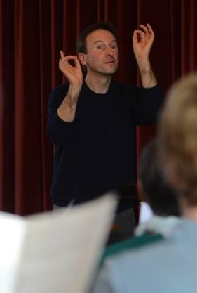 Chordirigent Christof Metz.