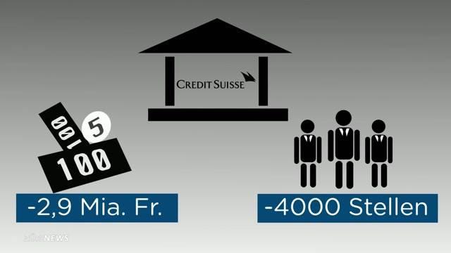 Credit Suisse streicht Stellen