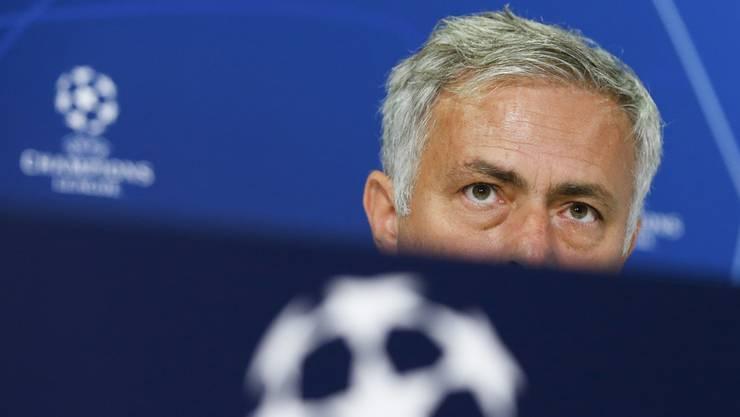 José Mourinho bei der Medienkonferenz am Tag vor der Partie in Bern gegen die Young Boys.