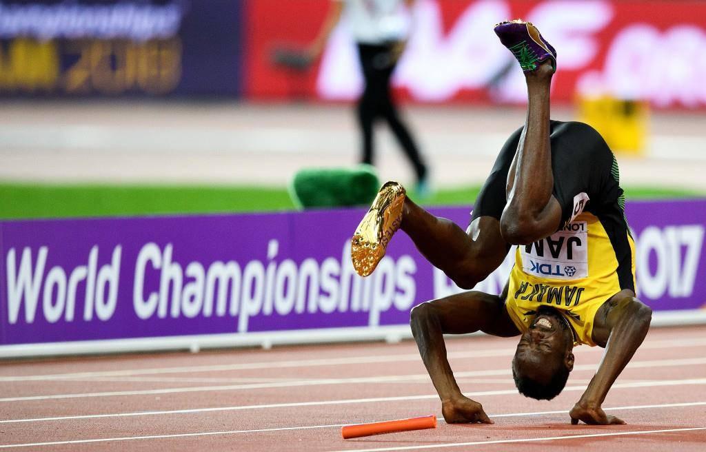 Im nächsten Leben wird Usain Bolt Kunstturner.
