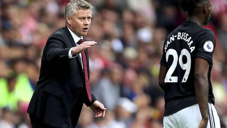 Manchester Uniteds Trainer Ole Gunnar Solskjaer hat erhebliche Sorgen