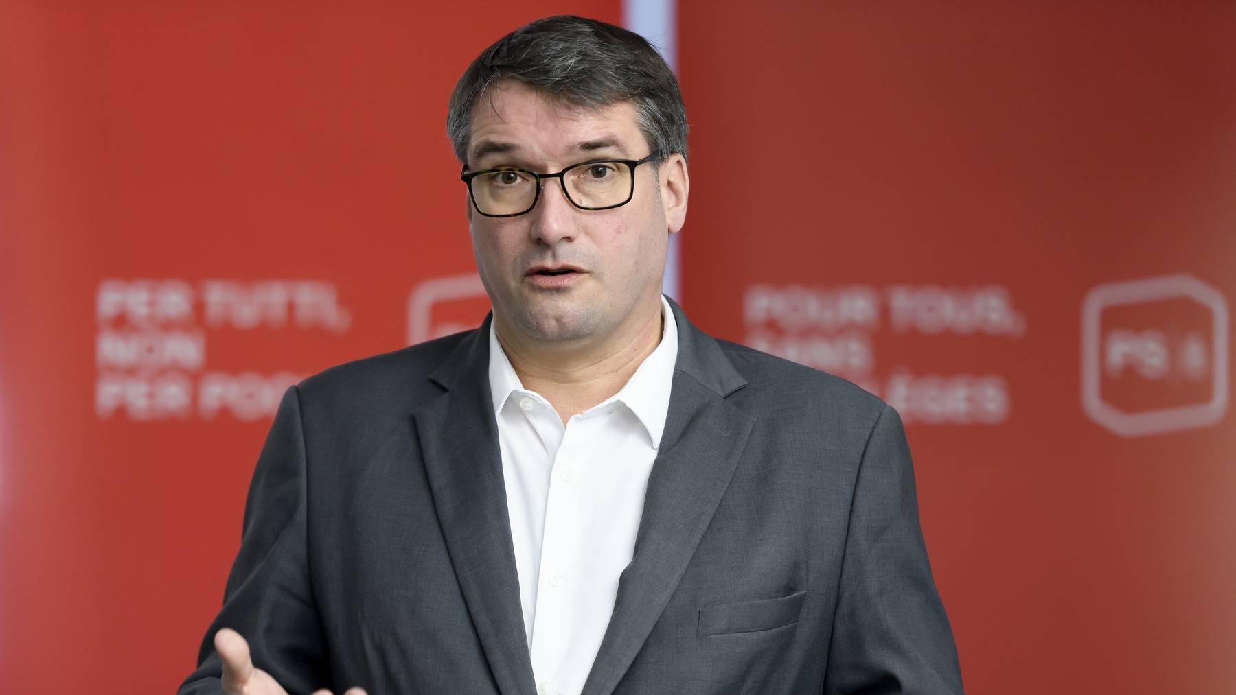Bleibt ein halbes Jahr länger Parteipräsident: SP-Ständerat Christian Levrat.