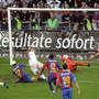 Eine Ikone des Schweizer Sports: Iulian Filipescu schiesst den FC Zürich gegen Basel in der Nachspielzeit zum Sieg und Meistertitel