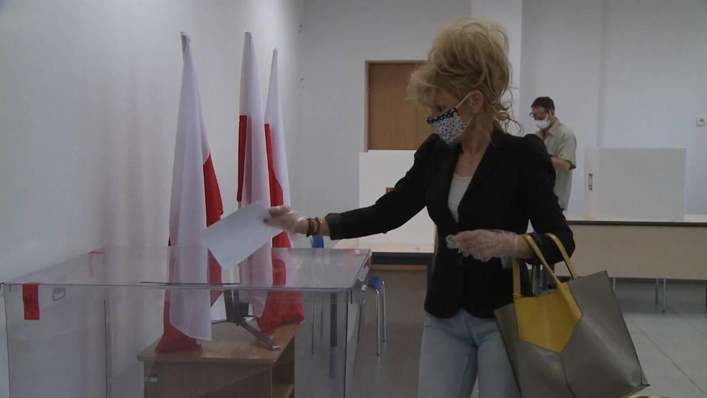 In Polen beginnt die Präsidentschaftswahl