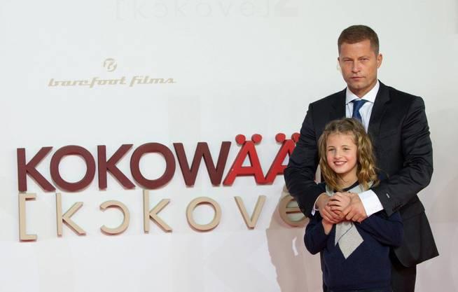 Til Schweiger mit Tochter Emma bei der Premiere seiens Films Kokowää 2