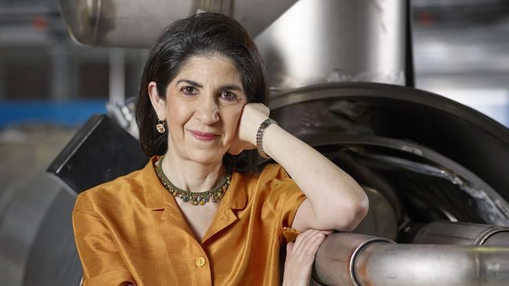 Die Italienerin und Cern-Direktorin Fabiola Gianotti (57) will mehr Mädchen für die Wissenschaft begeistern.