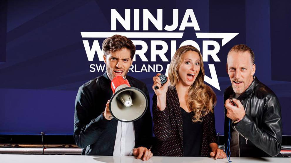 Ninja Warrior Switzerland, Visual