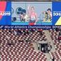 Sehen so 70 Prozent Auslastung des Stadions aus? Die Wahrheit liegt irgendwo zwischen Schönfärben und Schwarzmalen. Bild Keystone