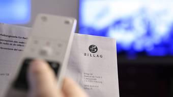 Die Ära Billag geht zu Ende. Ab nächstem Jahr wird die Abgabe für Radio und Fernsehen von der Serafe erhoben. (Symbolbild)
