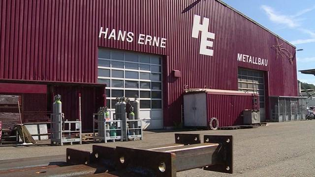 H. Erne Metallbau AG geht in Konkurs (30.09.2016)