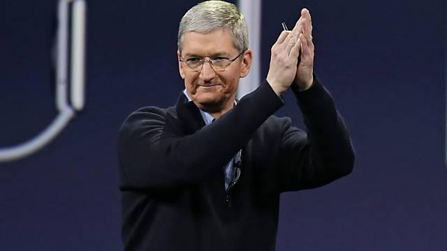 785 Millionen Dollar schwer: Apple-CEO Tim Cook (Archiv)