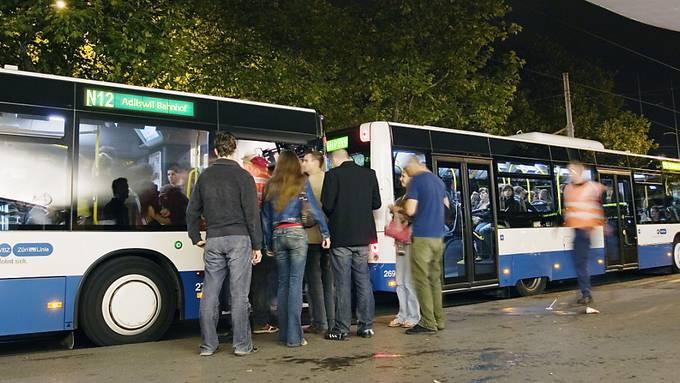 Das Nachtnetz des Zürcher Verkehrsverbundes bleibt auf die Wochenenden beschränkt. (Archivbild)