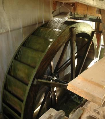 Seit 2009 rotiert die Mühle wieder.