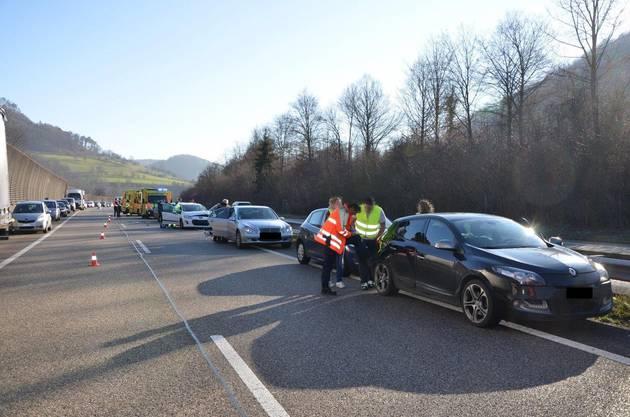 Sieben Personen wurden verletzt, drei davon schwer.