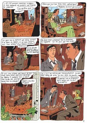 Vom philosophischen Comic bis hin zum poetischen Aquarell: Joann Sfar zeichnet unermüdlich und in allen Variationen.