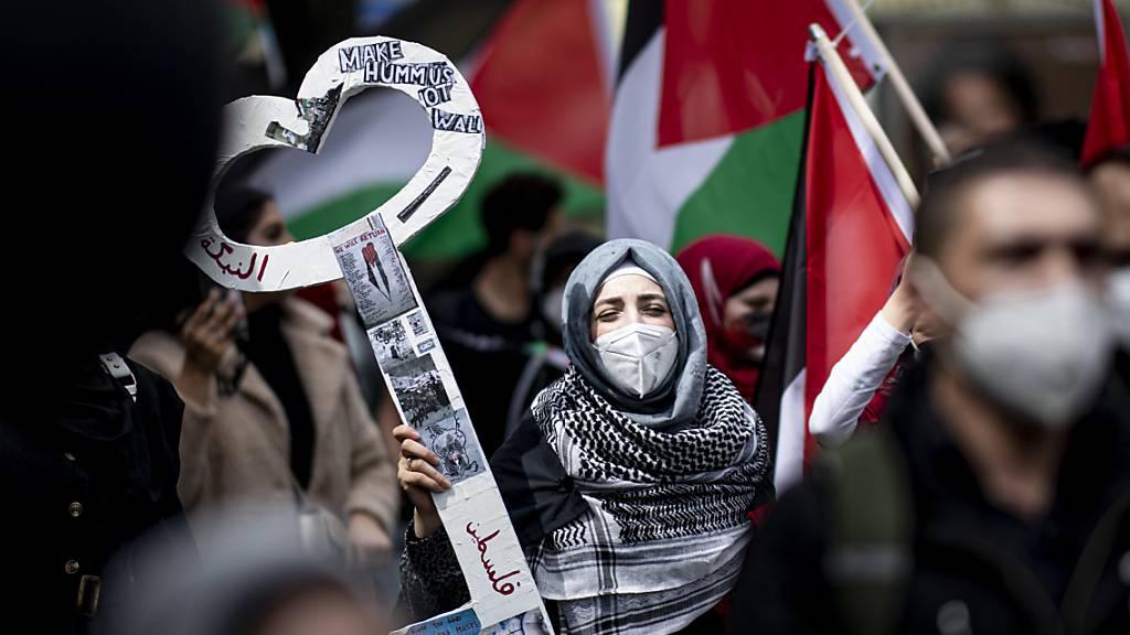 Berlin nennt antisemitische Ausfälle bei Demos «beschämend»