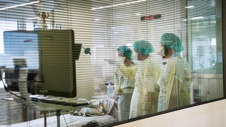 Das Personal auf der Intensivstation ist essenziell im Kampf gegen das Corona-Virus.