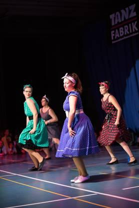 Impressionen von der grossen Show der Tanz-Fabrik in der Urdorfer Zentrumshalle.