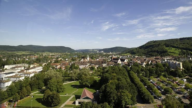 Blick auf Bad Zurzach.