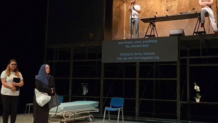 """Die syrische Produktion """"While I Was Waiting"""" gewann am Zürcher Theater Spektakel 2016 den Förderpreis"""