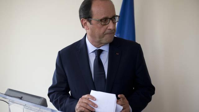 François Hollande muss wieder eine Niederlage einstecken (Archiv)