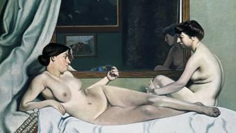 """Félix Vallottons Gemälde """"Le repos des modèles"""" ist vom 24. Februar bis 17. Juni 2018 in der Ausstellung """"Women"""" im Kunst Museum Winterthur / Reinhart am Stadtgarten zu sehen."""