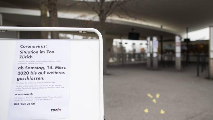 Wegen der aktuellen Corona-Virus-Situation ist der Zoo Zürich derzeit geschlossen.