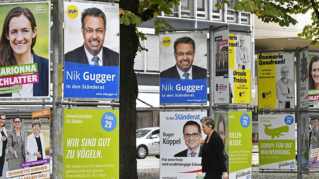 Umfrage: Grüne und GLP triumphieren – SVP verliert