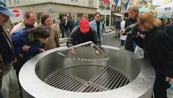 Im Sodbrunnen werden jährlich bis zu 3000 Franken gesammelt.