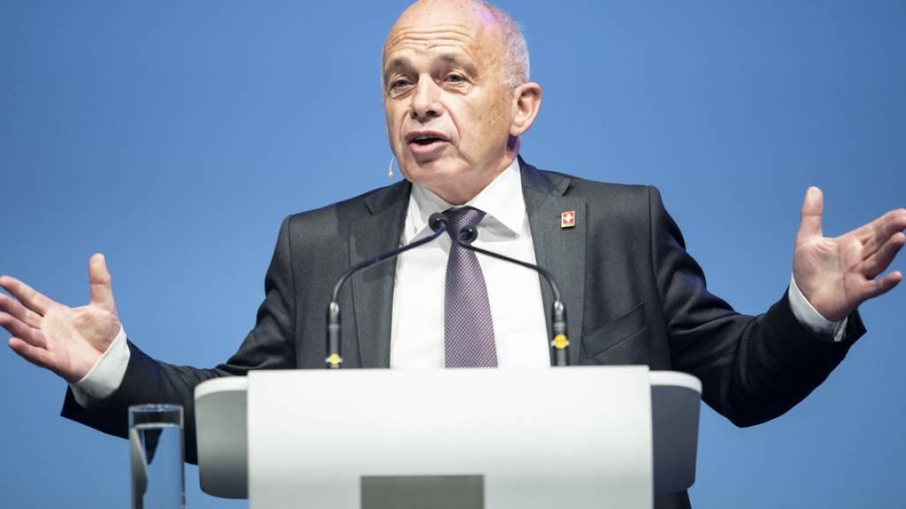 """Bundespräsident Ueli Maurer fordert """"weniger Bequemlichkeit"""""""
